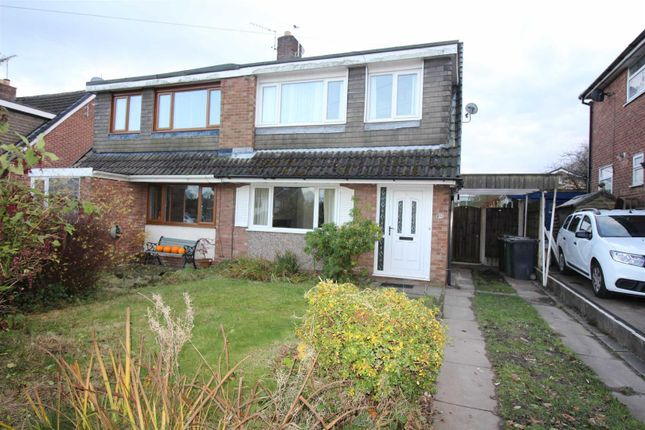 Thumbnail Semi-detached house to rent in Heswall Drive, Walshaw, Bury