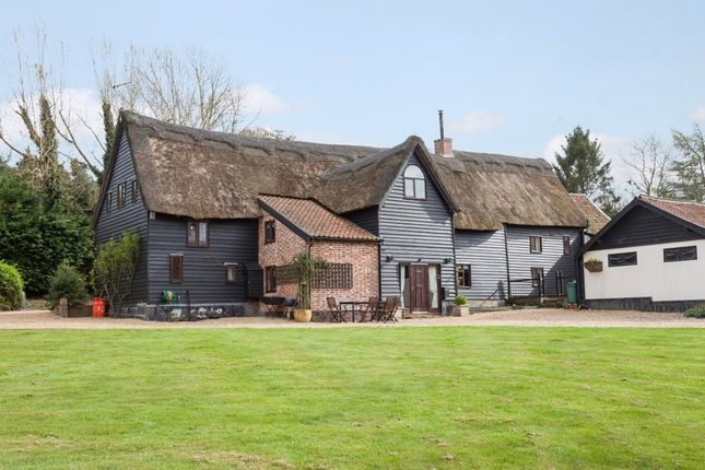 Thumbnail Barn conversion for sale in Ringsfield, Beccles
