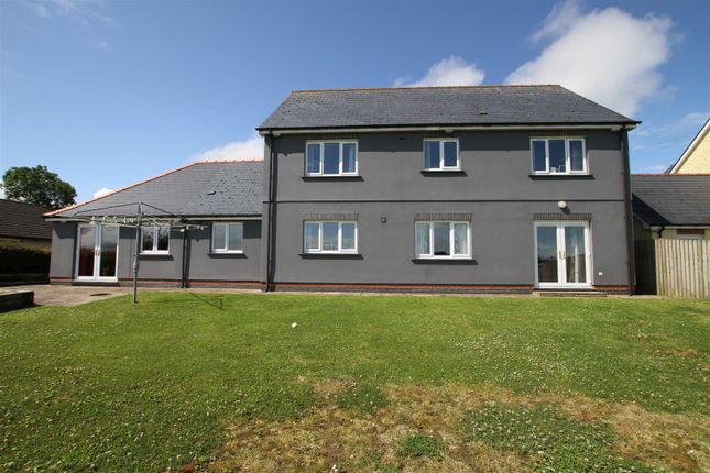 Thumbnail Detached house for sale in Bowls Road, Blaenporth, Cardigan