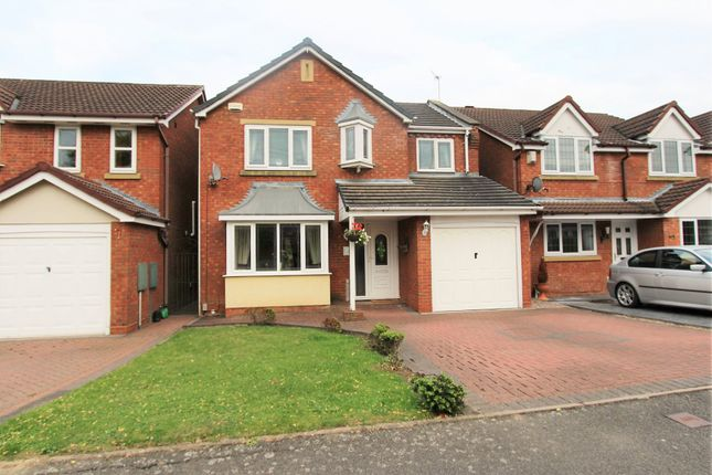 Thumbnail Detached house for sale in Lakeland Drive, Wilnecote, Tamworth