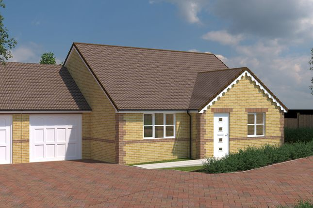 Thumbnail Detached bungalow for sale in Tree Tops, Common Road, South Kirkby