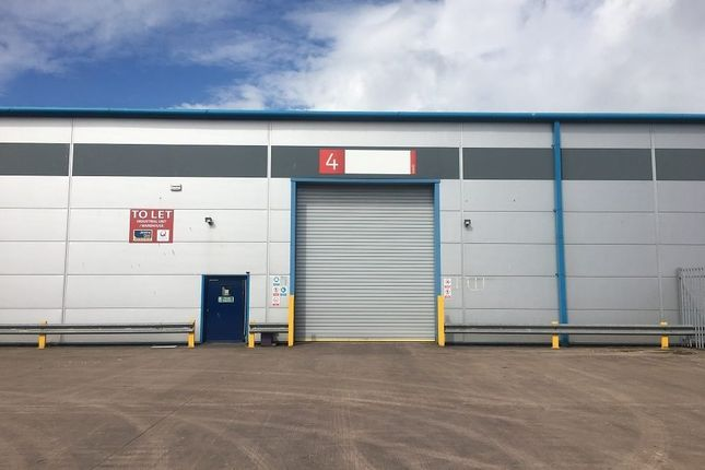 Thumbnail Industrial to let in Unit 4, Stephenson Street, Newport