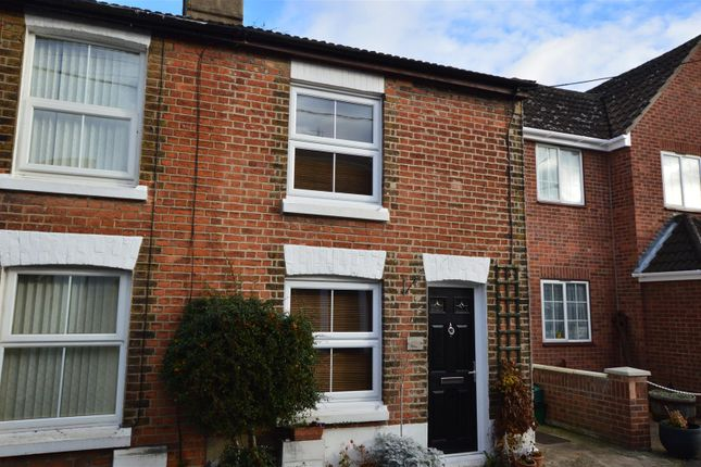Thumbnail End terrace house for sale in West Street, Rowhedge, Colchester