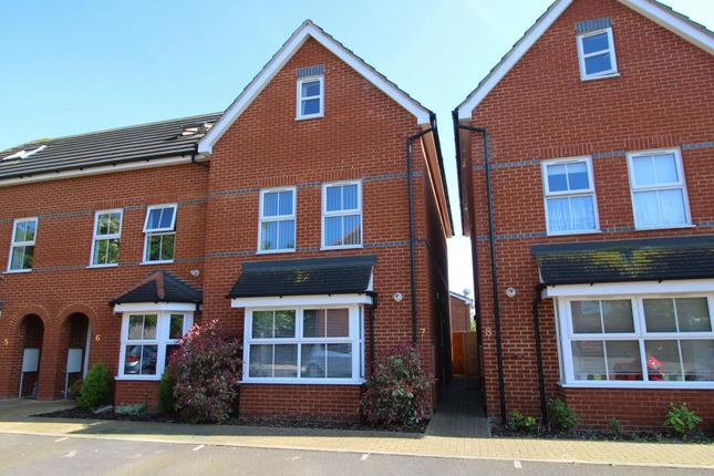 Thumbnail Town house for sale in Dashwood Close, Camberley