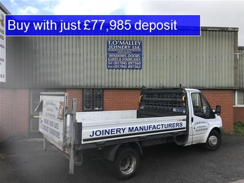 Thumbnail Light industrial for sale in L40, Burscough Industrial Estate, Lancashire