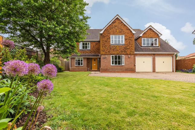 Thumbnail Detached house for sale in The Willows, Glinton, Peterborough