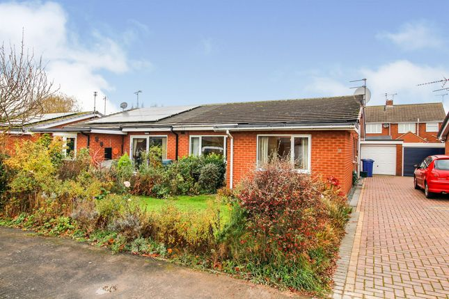 Thumbnail Semi-detached bungalow for sale in Malvern Close, Thorne, Doncaster
