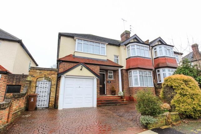 Thumbnail Semi-detached house for sale in Nesta Road, Woodford Green