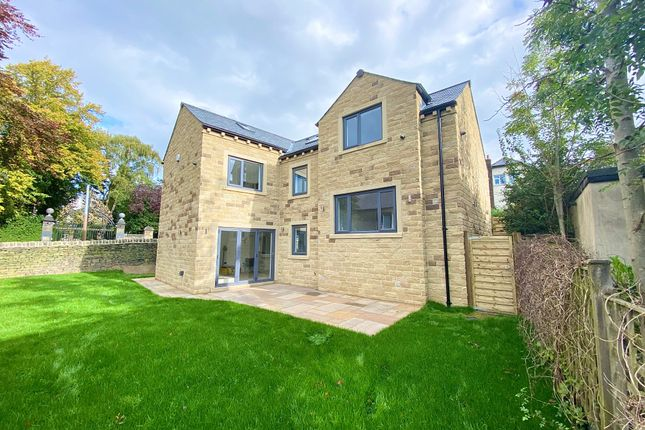 Thumbnail Detached house for sale in Nab Lane, Nab Wood, Shipley