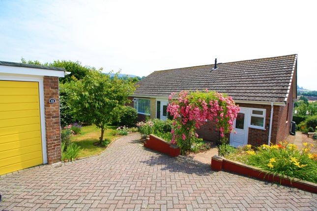 Thumbnail Detached bungalow for sale in Mallocks Close, Tipton St. John, Sidmouth