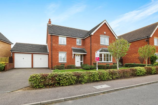 Thumbnail Detached house for sale in Hubbards Close, Saxmundham