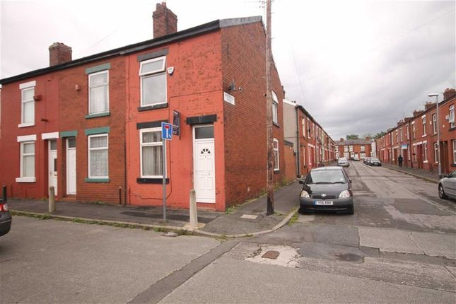 Thumbnail End terrace house to rent in Roxburgh Street, Gorton, Manchester