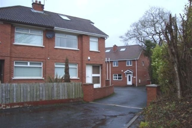Thumbnail Semi-detached house to rent in Lenaghan Park, Belfast