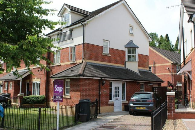 Thumbnail Terraced house to rent in Clos Afon Llwyd, Riverside, Pontypool