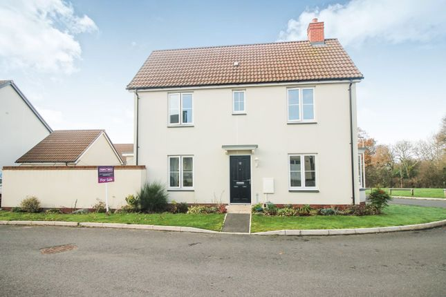 Thumbnail Detached house for sale in Webbers Meadow, Exeter