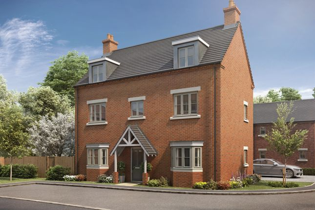 Thumbnail Detached house for sale in Plot 14 - The Sycamore, Wood Lane, Gedling, Nottingham, Gedling, Nottingham