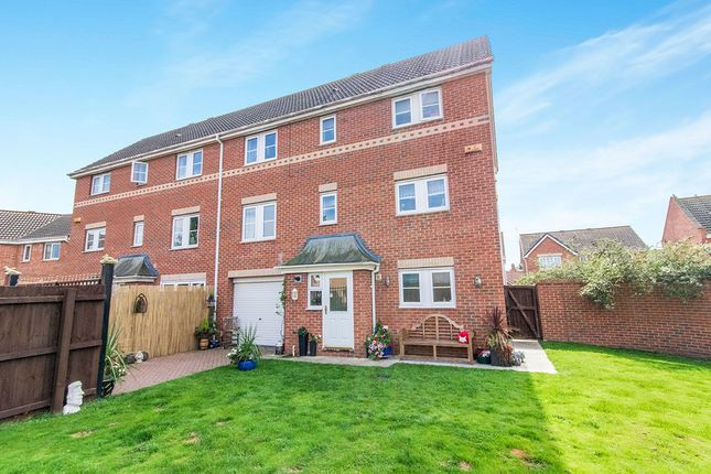 Thumbnail Semi-detached house for sale in Claudius Road, North Hykeham, Lincoln