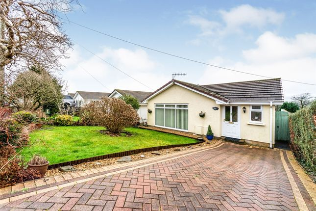 3 bed detached bungalow for sale in Kestrel View, Hengoed CF82