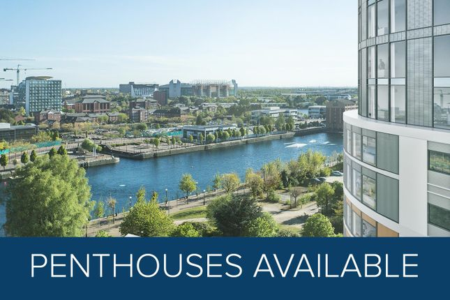 Thumbnail Flat for sale in Fortis Quay, Salford Quays
