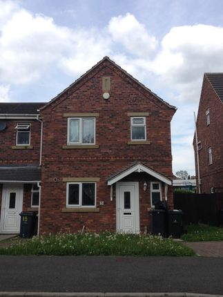 Thumbnail Town house to rent in Thornwood Close, Thurnscoe