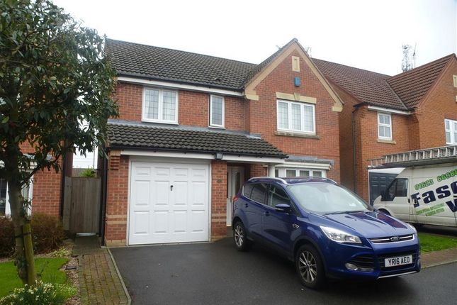 Thumbnail Detached house to rent in The Fieldings, Huthwaite, Sutton-In-Ashfield