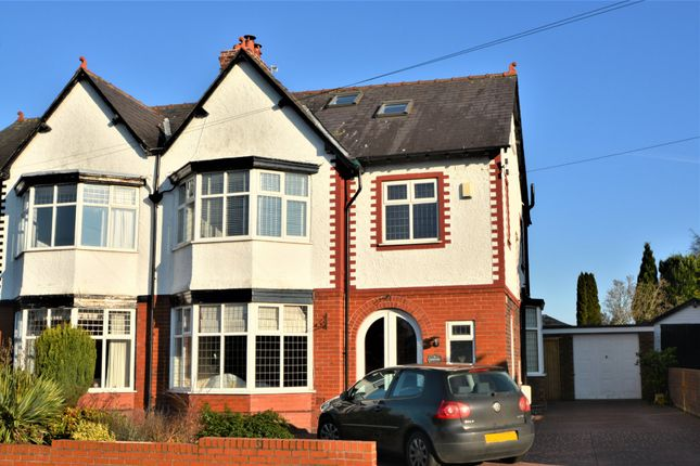 Thumbnail Semi-detached house to rent in Barrymore Road, Grappenhall, Warrington