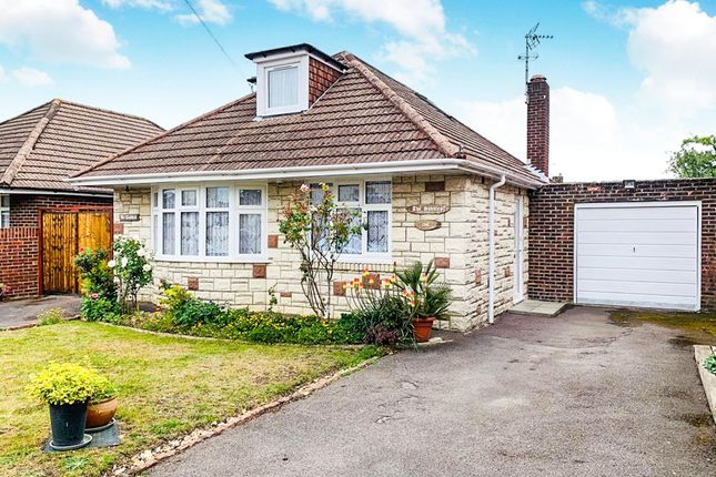 Thumbnail Detached bungalow for sale in Shales Road, Southampton