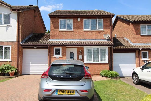 Thumbnail 3 bed detached house to rent in Allendale, Luton
