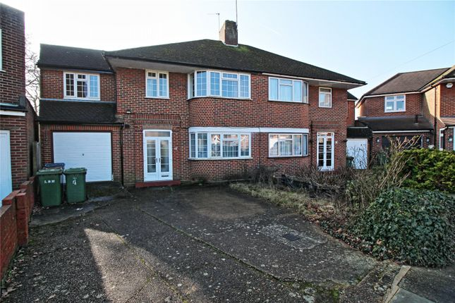 Thumbnail Semi-detached house for sale in Peters Close, Stanmore