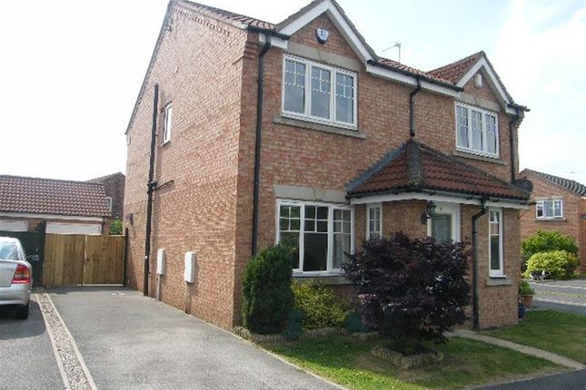 Thumbnail Semi-detached house to rent in Minchin Close, York, North Yorkshire