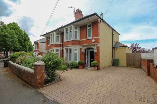 Thumbnail Semi-detached house for sale in Kyle Crescent, Cardiff