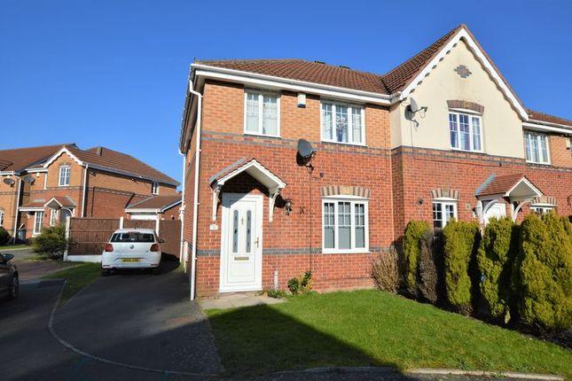 Thumbnail Semi-detached house for sale in Lees Park Avenue, Droylsden, Manchester
