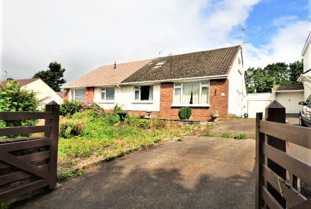 Thumbnail Bungalow for sale in Pwll Evan Ddu, Coity, Bridgend
