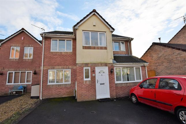 Thumbnail Detached house for sale in Blackberry Drive, Barry