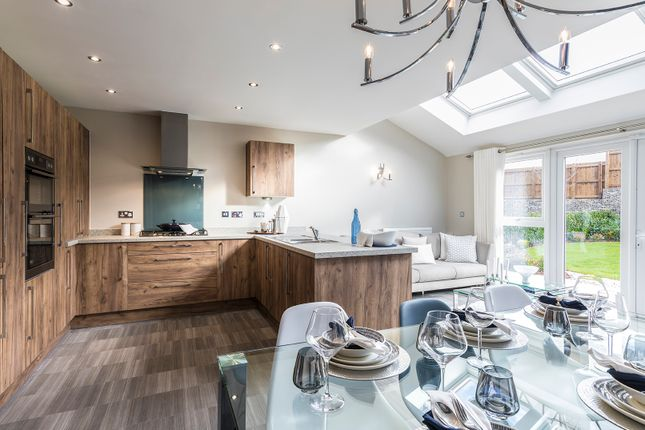 Thumbnail Detached house for sale in Off Welsh Road, Deeside, Flintshire