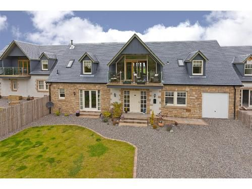 Thumbnail Detached house to rent in Rossie Steadings, Dunning