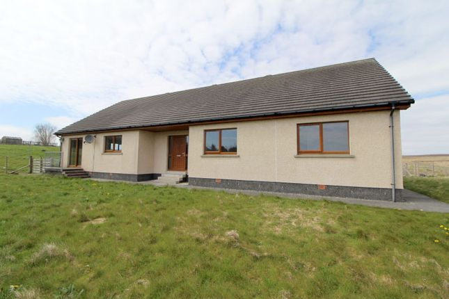 Thumbnail Detached bungalow for sale in Eoropie, Isle Of Lewis