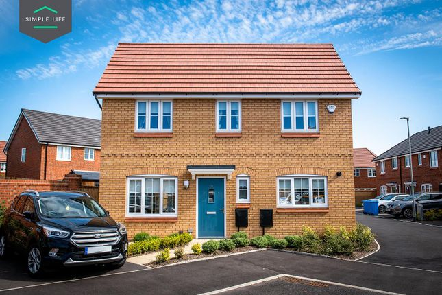 Thumbnail Semi-detached house to rent in Richard Darroch Way, Crewe
