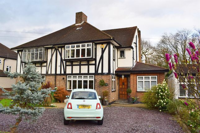 Thumbnail Semi-detached house for sale in Crown Woods Way, Eltham Heights, London