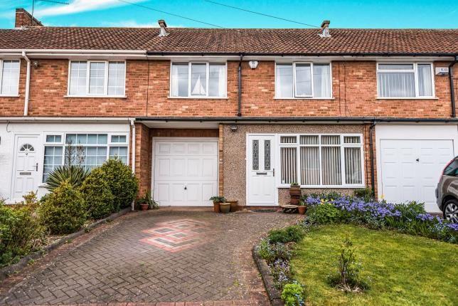 Thumbnail Terraced house for sale in St. Denis Road, Selly Oak, Birmingham, West Midlands
