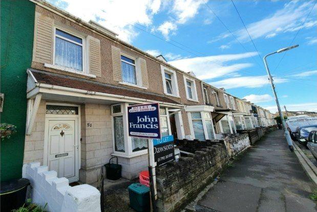 Terraced house to rent in Westbury Street, Swansea