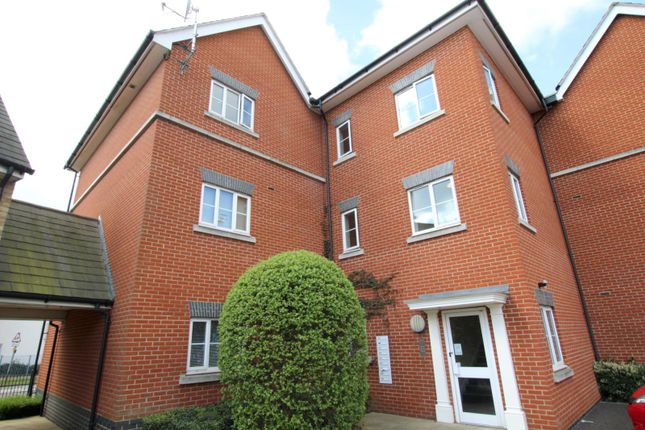 Thumbnail 2 bed flat to rent in Lackford Place, Ravenswood, Ipswich