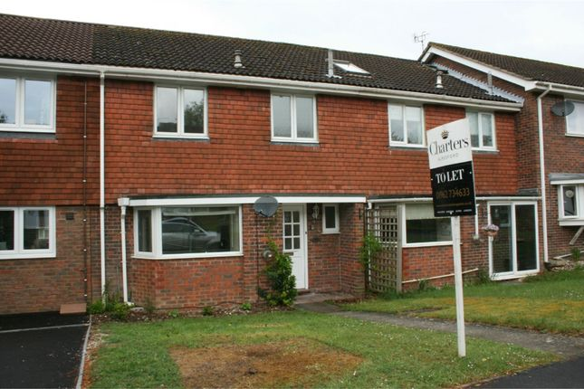 Thumbnail Terraced house to rent in Russet Close, Alresford, Hampshire