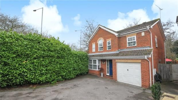 Thumbnail Detached house for sale in Gloucestershire Lea, Warfield, Berkshire