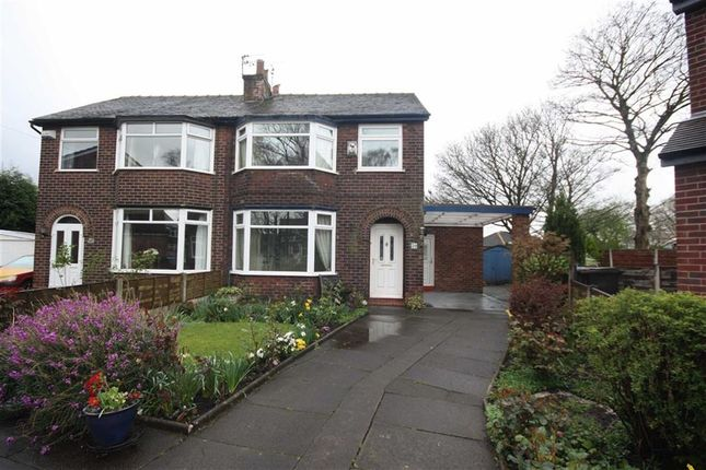 Thumbnail Semi-detached house to rent in St. Marks Crescent, Worsley, Manchester