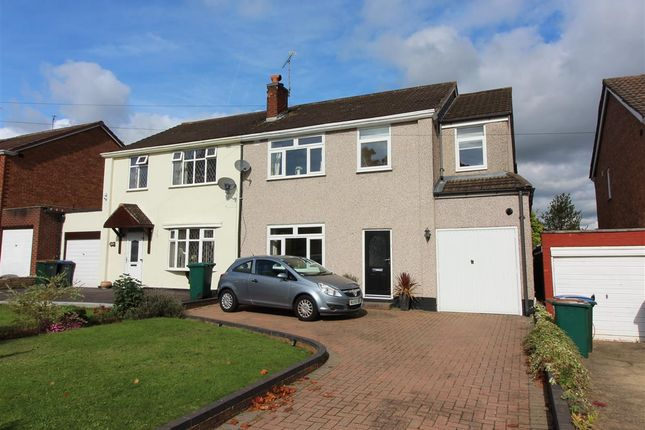 Thumbnail Semi-detached house for sale in Kenpas Highway, Styvechale, Coventry