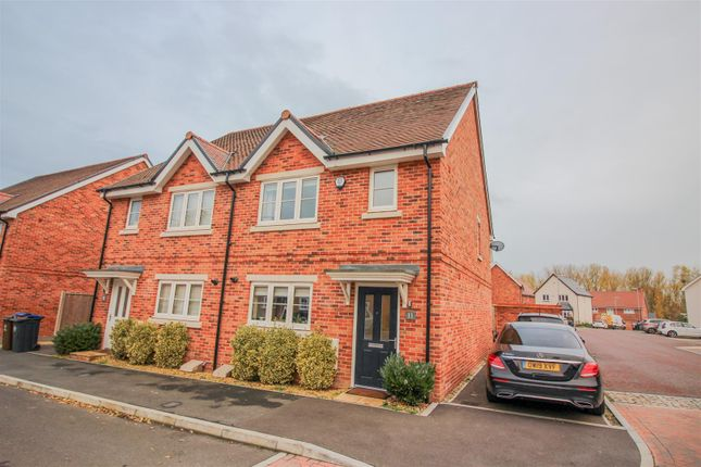 Thumbnail Semi-detached house for sale in Terlings Avenue, Gilston, Harlow