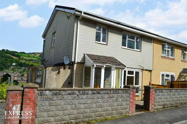 Thumbnail Semi-detached house for sale in Aubrey Road, Porth, Mid Glamorgan