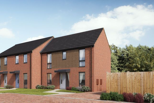 Thumbnail End terrace house for sale in Matlock Avenue, Telford, Shropshire