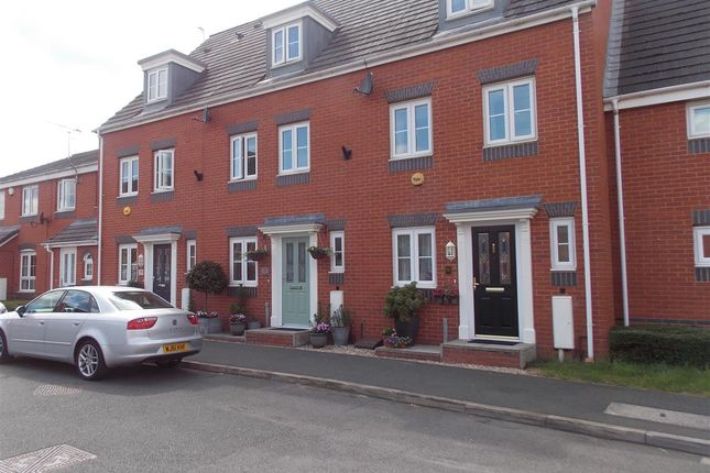Thumbnail Terraced house for sale in Cowslip Meadow, Draycott, Derby